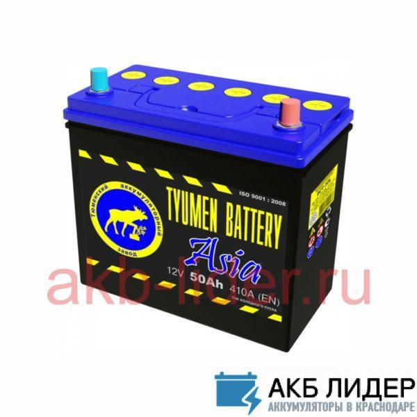 Аккумулятор Тюмень ASIA 50 Ач О.П., купить, заказать, цена, недорого, цена, отзывы, АКБ, аккумулятор, Краснодар, Кубань, Краснодарский край