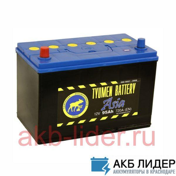 Аккумулятор Тюмень ASIA 95 Ач, купить, заказать, цена, недорого, цена, отзывы, АКБ, аккумулятор, Краснодар, Кубань, Краснодарский край