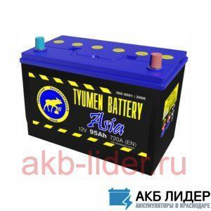 Автомобильный аккумулятор Тюмень 6СТ-95 Asia 95А/ч-12V ст EN720 японские обратная 306x172x220, купить, заказать, цена, недорого, цена, отзывы, АКБ, аккумулятор, Краснодар, Кубань, Краснодарский край