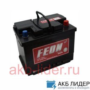 Автомобильный аккумулятор Feon Classic 60А/ч-12Vст EN500 европейский обратная 242x175x190, купить, заказать, цена, недорого, цена, отзывы, АКБ, аккумулятор, Краснодар, Кубань, Краснодарский край