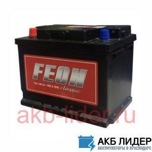 Автомобильный аккумулятор Feon Classic 60А/ч-12Vст EN500 прямая полярность 242x175x190, купить, заказать, цена, недорого, цена, отзывы, АКБ, аккумулятор, Краснодар, Кубань, Краснодарский край