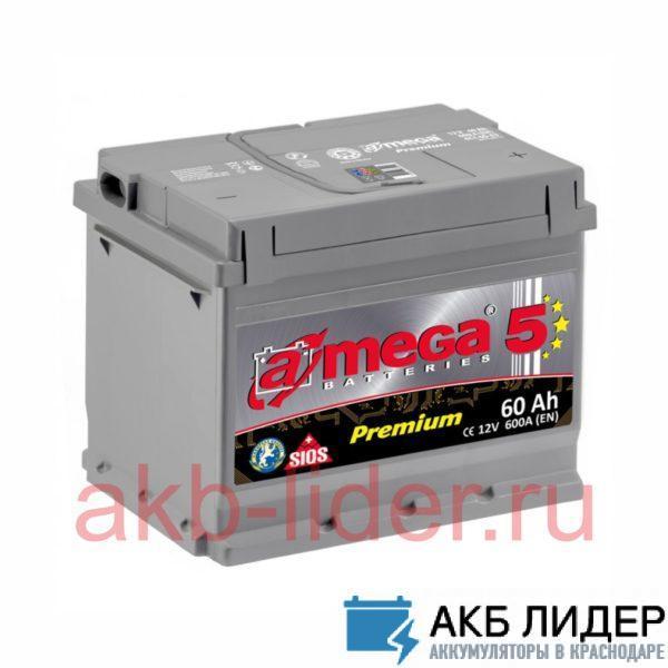 Аккумулятор A-MEGA 60 Ah, купить, заказать, цена, недорого, цена, отзывы, АКБ, аккумулятор, Краснодар, Кубань, Краснодарский край