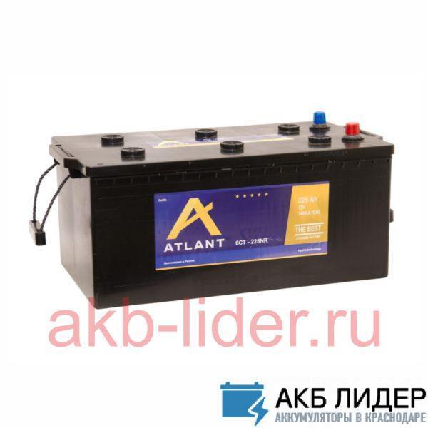 Автомобильный аккумулятор Atlant 6СТ 225А/ч-12V ст EN1450 прямая 518x276x242, купить, заказать, цена, недорого, цена, отзывы, АКБ, аккумулятор, Краснодар, Кубань, Краснодарский край