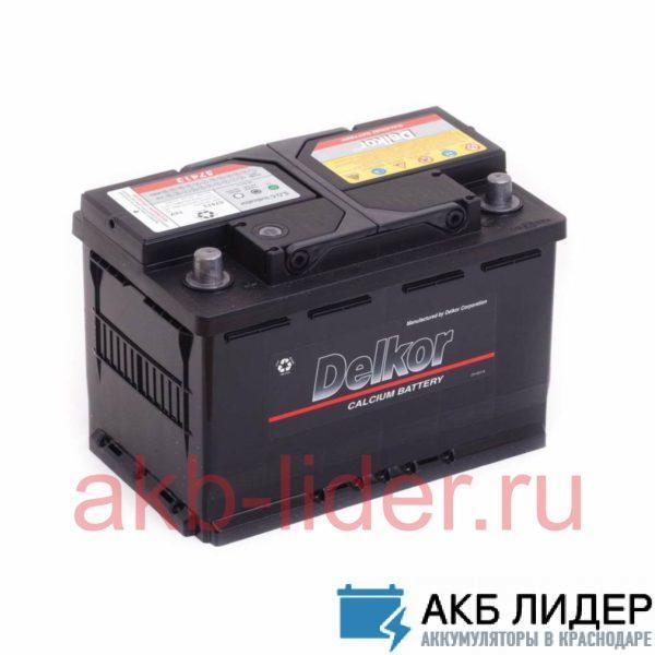 Аккумулятор DELKOR 80Ah обратная полярность, купить, заказать, цена, недорого, цена, отзывы, АКБ, аккумулятор, Краснодар, Кубань, Краснодарский край