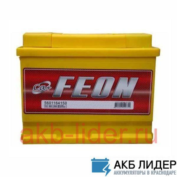 Аккумулятор Feon 64 a/h, купить, заказать, цена, недорого, цена, отзывы, АКБ, аккумулятор, Краснодар, Кубань, Краснодарский край