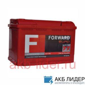 Аккумулятор Forward 77 a/h обратная полярность 720A пуск. ток, купить, заказать, цена, недорого, цена, отзывы, АКБ, аккумулятор, Краснодар, Кубань, Краснодарский край