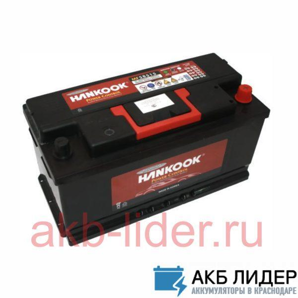 Автомобильный аккумулятор Hankook 6-CT 100А/ч-12Vст EN850 европейская обратная 353x175x190, купить, заказать, цена, недорого, цена, отзывы, АКБ, аккумулятор, Краснодар, Кубань, Краснодарский край