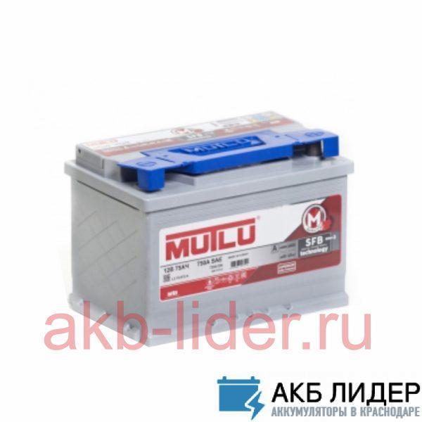 Автомобильный аккумулятор Mutlu SFB 75А/ч-12V ст EN720 европейские обратная 278x175x175, купить, заказать, цена, недорого, цена, отзывы, АКБ, аккумулятор, Краснодар, Кубань, Краснодарский край