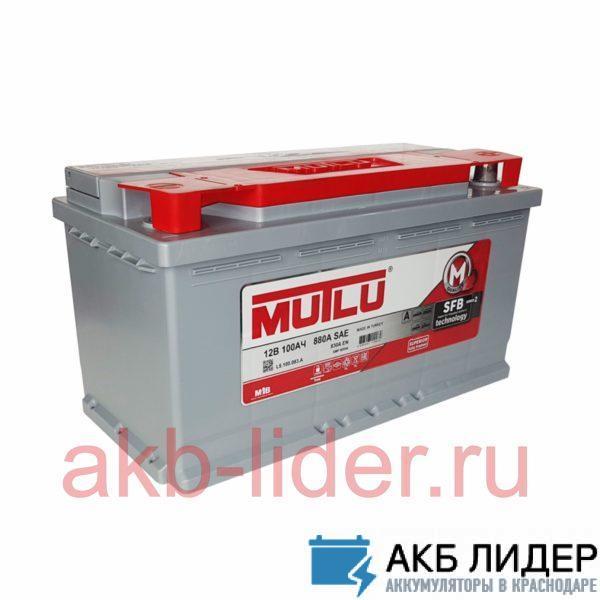 Автомобильный аккумулятор Mutlu SFB 100А/ч-12V ст EN830 европейские прямая 353x175x190, купить, заказать, цена, недорого, цена, отзывы, АКБ, аккумулятор, Краснодар, Кубань, Краснодарский край