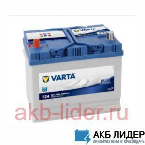 Автомобильный аккумулятор Varta Blue Dynamic 570 412 063 70А/ч-12V ст EN630 японские обратная 261x175x225, купить, заказать, цена, недорого, цена, отзывы, АКБ, аккумулятор, Краснодар, Кубань, Краснодарский край