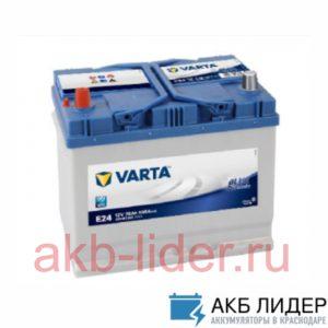 Автомобильный аккумулятор Varta Blue Dynamic 570 412 063 70А/ч-12V ст EN630 Asia обратная полярность 261x175x225, купить, заказать, цена, недорого, цена, отзывы, АКБ, аккумулятор, Краснодар, Кубань, Краснодарский край