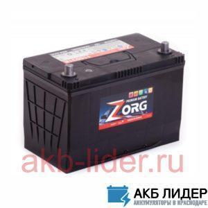 Аккумулятор ZORG 100 Ач (115D31L) asia О.П., купить, заказать, цена, недорого, цена, отзывы, АКБ, аккумулятор, Краснодар, Кубань, Краснодарский край