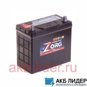 Аккумулятор ZORG (DELKOR) 6СТ-55 (70B24LS) asia, купить, заказать, цена, недорого, цена, отзывы, АКБ, аккумулятор, Краснодар, Кубань, Краснодарский край