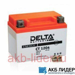 Мото аккумулятор DELTA CT 1204 4 Ач, купить, заказать, цена, недорого, цена, отзывы, АКБ, аккумулятор, Краснодар, Кубань, Краснодарский край
