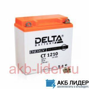 Мото аккумулятор DELTA CT 1210 10 Ач, купить, заказать, цена, недорого, цена, отзывы, АКБ, аккумулятор, Краснодар, Кубань, Краснодарский край