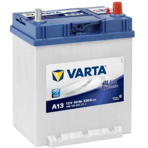 Автомобильный аккумулятор Varta Blue Dynamic 540 126 033 40А/ч-12V ст EN330 японские обратная 187x127x227, купить, заказать, цена, недорого, цена, отзывы, АКБ, аккумулятор, Краснодар, Кубань, Краснодарский край