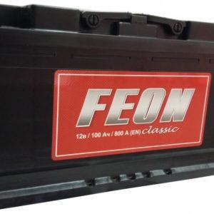 Автомобильный аккумулятор Feon Classic 100А/ч-12V EN800 обратная 352x175x190, купить, заказать, цена, недорого, цена, отзывы, АКБ, аккумулятор, Краснодар, Кубань, Краснодарский край