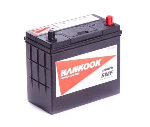 Автомобильный аккумулятор Hankook 6-CT 48А/ч-12V ст EN460 японские обратная 238x129x227, купить, заказать, цена, недорого, цена, отзывы, АКБ, аккумулятор, Краснодар, Кубань, Краснодарский край