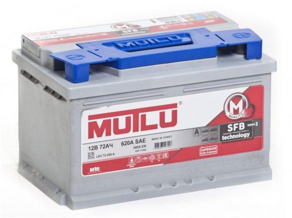 Автомобильный аккумулятор Mutlu SFB 72А/ч-12V ст EN640 полярность обратная 278x175x175, купить, заказать, цена, недорого, цена, отзывы, АКБ, аккумулятор, Краснодар, Кубань, Краснодарский край