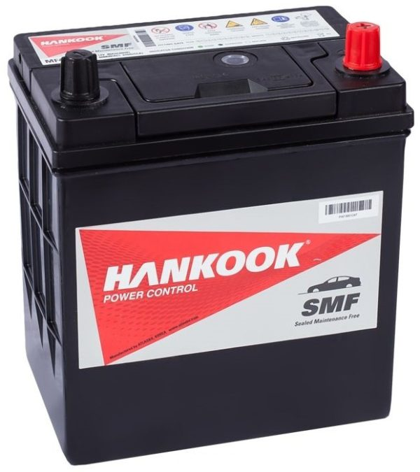Автомобильный аккумулятор Hankook 6-CT 40А/ч-12Vст EN370 японская обратная полярность 187x129x227, купить, заказать, цена, недорого, цена, отзывы, АКБ, аккумулятор, Краснодар, Кубань, Краснодарский край