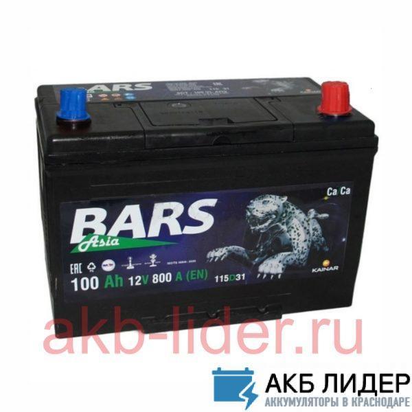 Аккумулятор BARS ASIA 100 Ah О.П., купить, заказать, цена, недорого, цена, отзывы, АКБ, аккумулятор, Краснодар, Кубань, Краснодарский край