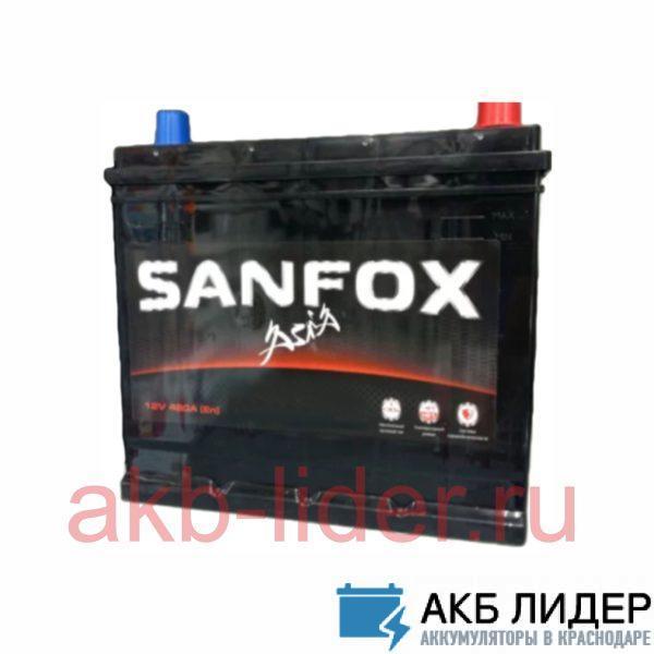 Автомобильный аккумулятор SanFox 6СТ 75А/ч-12V ст EN650 европейские прямая 278x175x190, купить, заказать, цена, недорого, цена, отзывы, АКБ, аккумулятор, Краснодар, Кубань, Краснодарский край