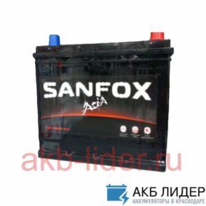 Автомобильный аккумулятор SanFox Asia 6СТ 75А/ч-12V ст EN650 европейские прямая 278x175x190, купить, заказать, цена, недорого, цена, отзывы, АКБ, аккумулятор, Краснодар, Кубань, Краснодарский край
