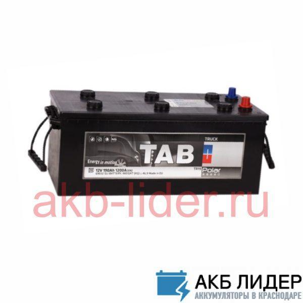Аккумулятор Tab Polar 190 Ач евро, купить, заказать, цена, недорого, цена, отзывы, АКБ, аккумулятор, Краснодар, Кубань, Краснодарский край