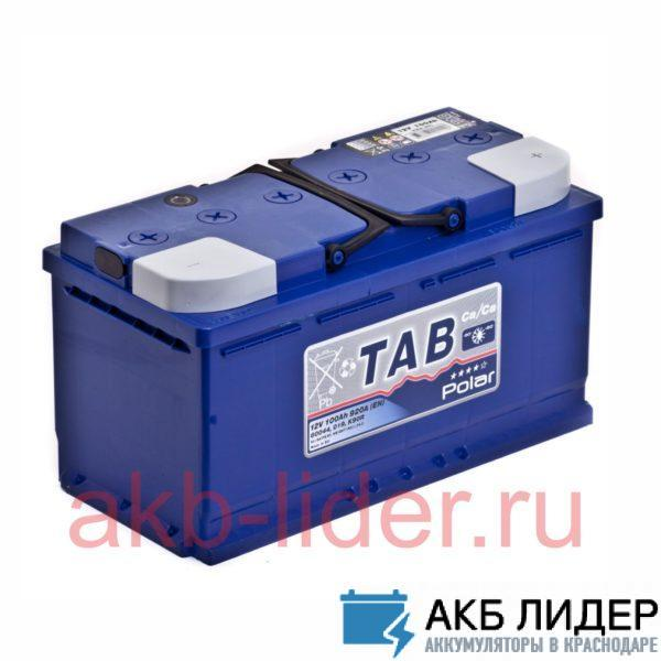 Аккумулятор Tab Polar 6ст-100 О.П., купить, заказать, цена, недорого, цена, отзывы, АКБ, аккумулятор, Краснодар, Кубань, Краснодарский край