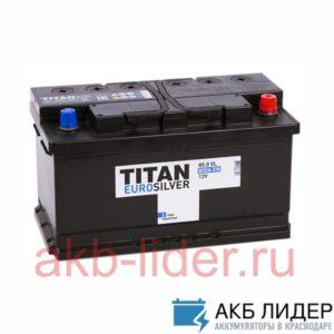 Автомобильный аккумулятор Titan Euro Silver 85 Ач о/п низкая 85А/ч-12Vст EN800 полярность обратная 315x175x175, купить, заказать, цена, недорого, цена, отзывы, АКБ, аккумулятор, Краснодар, Кубань, Краснодарский край