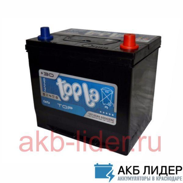 Аккумулятор TopLa  60 Ач asia О.П., купить, заказать, цена, недорого, цена, отзывы, АКБ, аккумулятор, Краснодар, Кубань, Краснодарский край