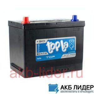 Автомобильный аккумулятор TOPLA Asia Top 75А/ч-12V ст EN740 европейские обратная 269x173x218, купить, заказать, цена, недорого, цена, отзывы, АКБ, аккумулятор, Краснодар, Кубань, Краснодарский край