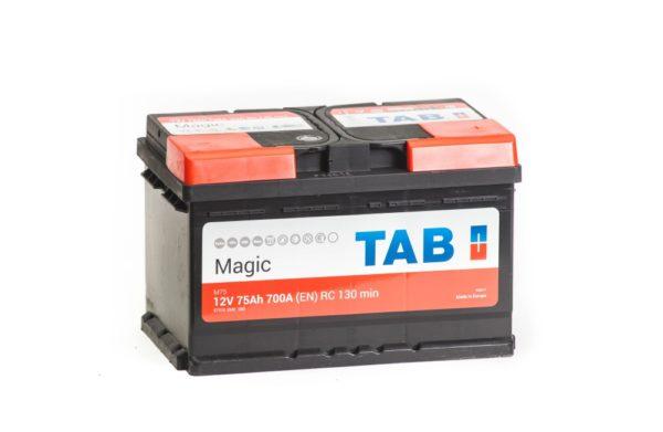 Автомобильный аккумулятор ТАБ Magic 75А/ч-12Vст EN720 европейский обратная 278x175x175, купить, заказать, цена, недорого, цена, отзывы, АКБ, аккумулятор, Краснодар, Кубань, Краснодарский край