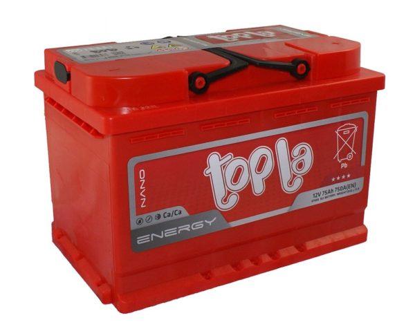 Автомобильный аккумулятор TOPLA Energy 75А/ч-12Vст EN750 европейский обратная 278x175x190, купить, заказать, цена, недорого, цена, отзывы, АКБ, аккумулятор, Краснодар, Кубань, Краснодарский край