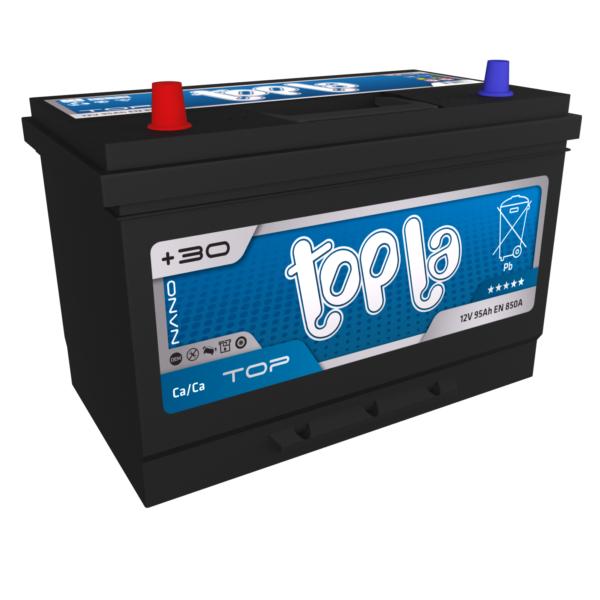 Автомобильный аккумулятор TOPLA Asia Top 95А/ч-12Vст EN850 японские прямая 303x174x218, купить, заказать, цена, недорого, цена, отзывы, АКБ, аккумулятор, Краснодар, Кубань, Краснодарский край