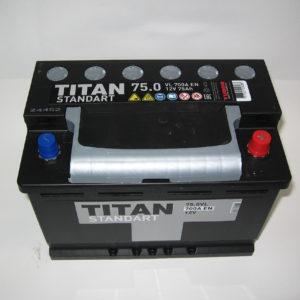 Автомобильный аккумулятор ТИТАН Standart 75А/ч-12V ст EN700 европейские прямая 278x175x190, купить, заказать, цена, недорого, цена, отзывы, АКБ, аккумулятор, Краснодар, Кубань, Краснодарский край
