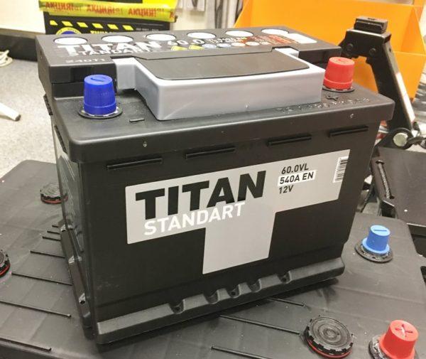 Автомобильный аккумулятор Titan Standart 60А/ч-12V ст EN540 европейские прямая 245x175x190, купить, заказать, цена, недорого, цена, отзывы, АКБ, аккумулятор, Краснодар, Кубань, Краснодарский край