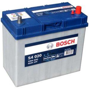 Аккумулятор автомобильный Bosch S4 (023) 12В 45Ач 330А прямая полярность, купить, заказать, цена, недорого, цена, отзывы, АКБ, аккумулятор, Краснодар, Кубань, Краснодарский край