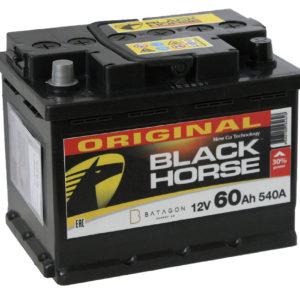 Аккумулятор автомобильный Black Horse 6СТ-60.1 12В 60Ач 540А прямая полярность, купить, заказать, цена, недорого, цена, отзывы, АКБ, аккумулятор, Краснодар, Кубань, Краснодарский край