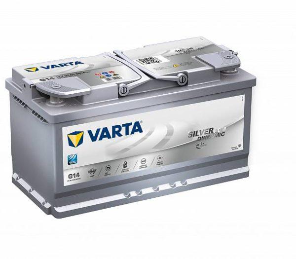 Аккумулятор автомобильный VARTA Start-Stop Plus AGM G14 595 901 085 12В 95Ач 850А, купить, заказать, цена, недорого, цена, отзывы, АКБ, аккумулятор, Краснодар, Кубань, Краснодарский край