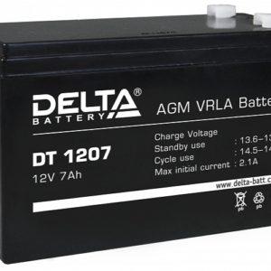 Тяговый аккумулятор ИБП Delta DT 1207 12В 7Ач А, купить, заказать, цена, недорого, цена, отзывы, АКБ, аккумулятор, Краснодар, Кубань, Краснодарский край