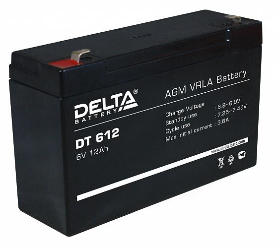 Тяговый аккумулятор ИБП Delta DT 612 12В 12Ач А, купить, заказать, цена, недорого, цена, отзывы, АКБ, аккумулятор, Краснодар, Кубань, Краснодарский край