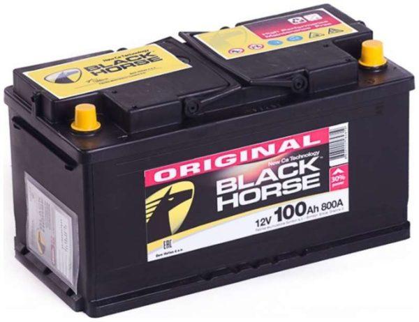 Аккумулятор автомобильный Black Horse 6СТ-100.0 12В 100Ач 800А обратная полярность, купить, заказать, цена, недорого, цена, отзывы, АКБ, аккумулятор, Краснодар, Кубань, Краснодарский край