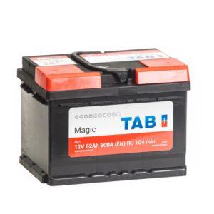 Аккумулятор автомобильный TAB MAGIC 6СТ-62 R+ 189063 56249 12В 62Ач 600А, купить, заказать, цена, недорого, цена, отзывы, АКБ, аккумулятор, Краснодар, Кубань, Краснодарский край
