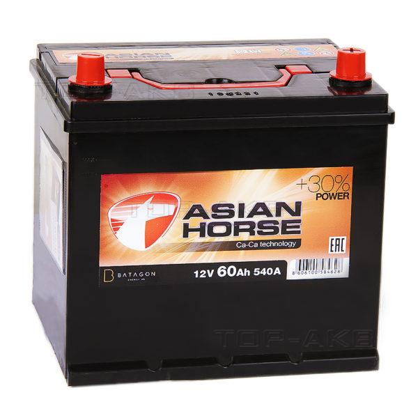 Аккумулятор автомобильный Asian Black Horse 6СТ-60.0 12В 60Ач 540А (65B23L) О/П, купить, заказать, цена, недорого, цена, отзывы, АКБ, аккумулятор, Краснодар, Кубань, Краснодарский край