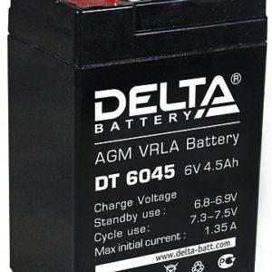 Тяговый аккумулятор ИБП Delta DT 6045 12В 4.5Ач А, купить, заказать, цена, недорого, цена, отзывы, АКБ, аккумулятор, Краснодар, Кубань, Краснодарский край